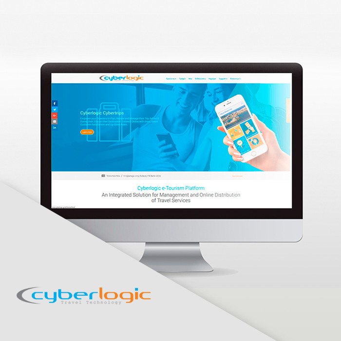 Project Cyberlogic: We designed Cyberlogic's SEO friendly website,along with developing marketing-driven solutions to theri product branding | Wordpress design & development
